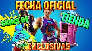 FILTERED SKINS *EXCLUSIVE* of the WORLD CUP (When they leave) Fortnite Tmporada 9