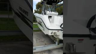 2002 Hydra Sports 2596 With 2009 Yamaha Twin F250's (For Sale Part 1)