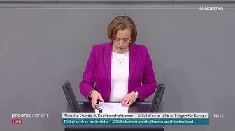 Beatrix von Storch (AfD) zur Eskalation in Idlib und die Folgen für Europa am 05.03.20