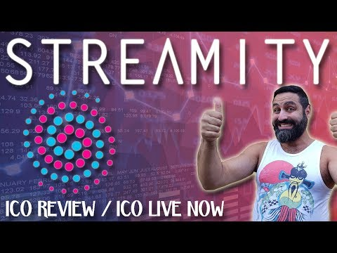 Streamity ICO Review | Decentralized P2P Exchange | Spreadsheet Access