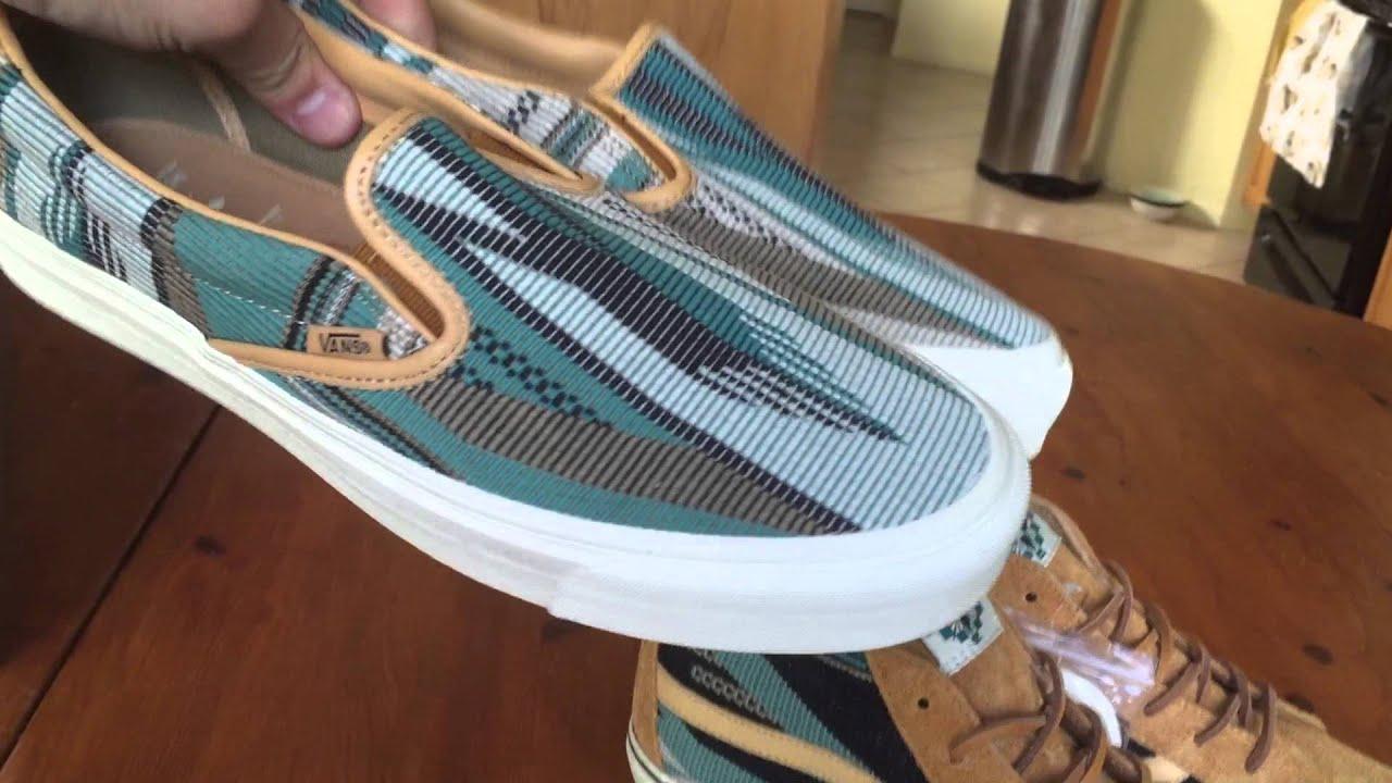 beeabcbf098 Shoe Review  Vans Vault x Taka Hayashi  Chimayo  Sk8-Mid LX (Golden Brown)