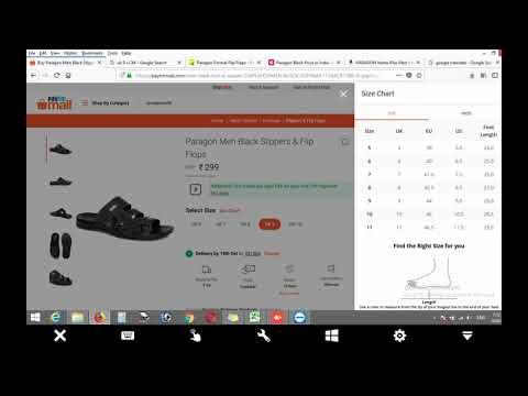 How To Find Slipper Size On Online ? ऑनलाइन स्लिपर मंगवाने से पहले सचेत ? Online Shopping Safe