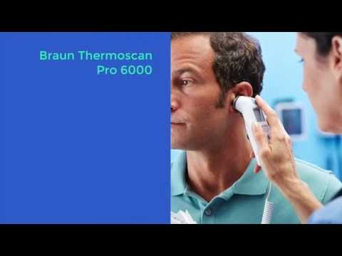 Welch Allyn Braun ThermoScan® PRO 6000 Ear Thermometer Training