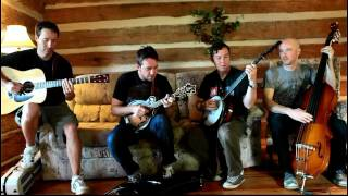 "Yonder Mountain String Band ""They Love Each Other"" backstage at Harvest Fest"