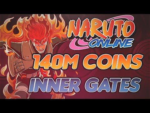 Naruto Online | Spending 140 Million Coins Toward The Inner Gates