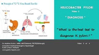 HELICOBACTER PYLORI - Diagnosis