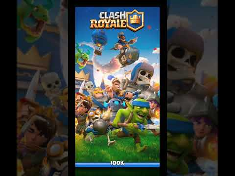 Clash Royale Oynadım  ( Ilk Başlangıç )
