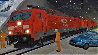 Alarm im Katzenbergtunnel | Rettungseinsatz | Neubaustrecke Freiburg - Basel | Train Simulator 2018