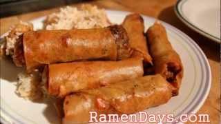 Filipino Chicken Lumpia Recipe