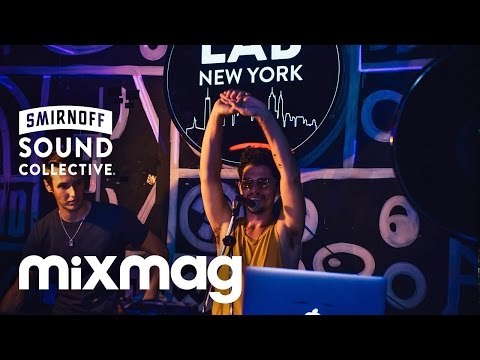 Nick monaco (live) in the lab nyc