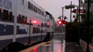 Metrolink Trains @ Glendale Depot - 12/11/09