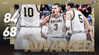 Wofford vs. Seton Hall: First Round NCAA Tournament extended highlights