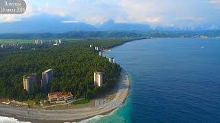 Отзыв о Пицунде Абхазия 2016(Город расположен в 36 км от аэропорта Сочи на берегу бухты. Гагрские отроги Большого Кавказского хребта..., 2016-07-20T19:29:40.000Z)