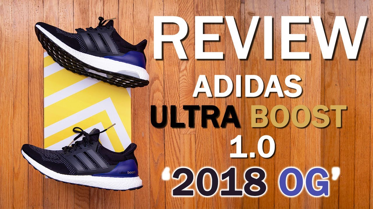 3ef41f2cba8fa adidas Ultra Boost 1.0  2018 OG  Review and On Feet - YouTube