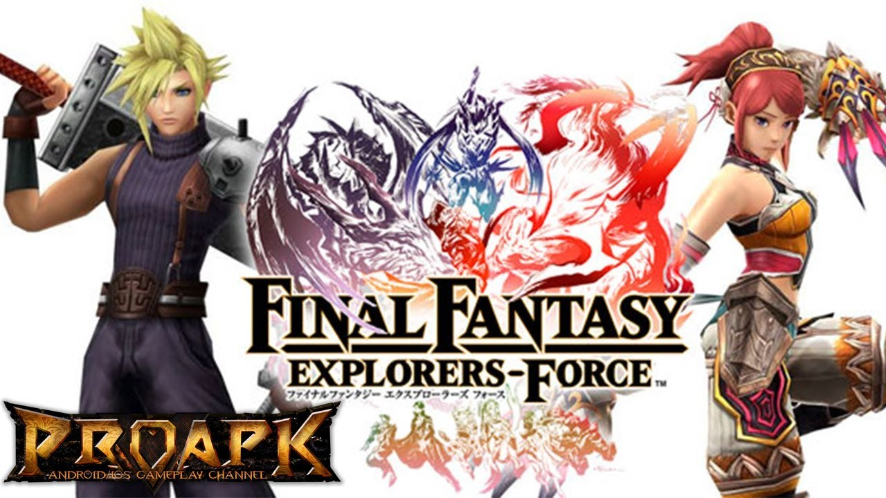 FINAL FANTASY EXPLORERS FORCE Mobile Game Will End Its