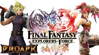 Final Fantasy Explorers Force Android Gameplay (CBT) (JP)