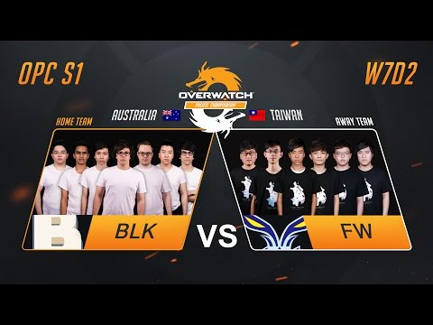 BLK vs FW | W7D2 Match 3 | OPC S1