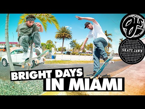 Bright Days in Miami | Gardner, Fred Gall, O'Dwyer and Crew | OJ Wheels x Skate Jawn