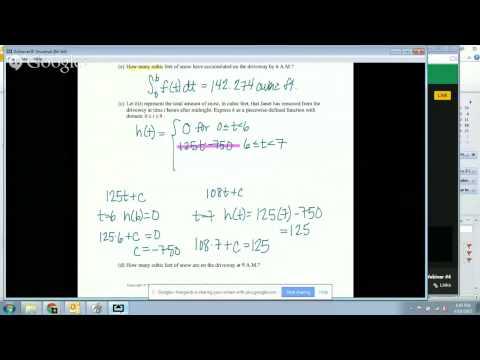 AP Calculus Webinar #4 Session 1