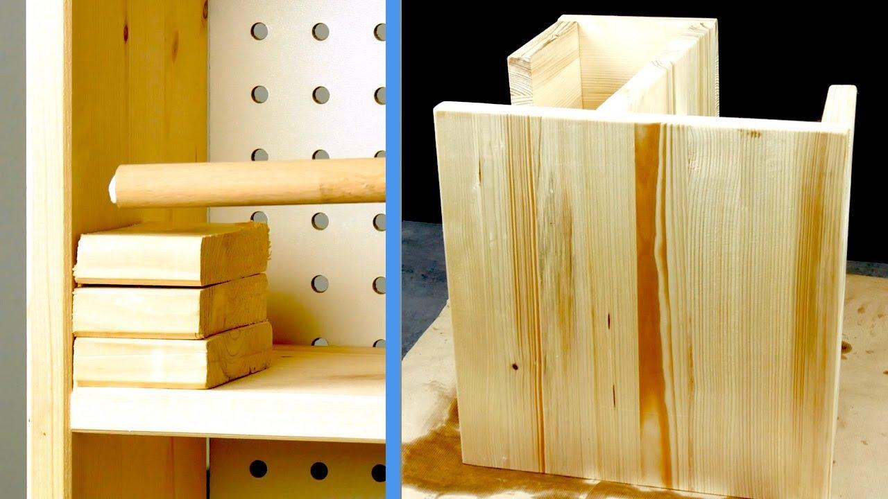12 meubles en bois incroyablement faciles à construire soi même
