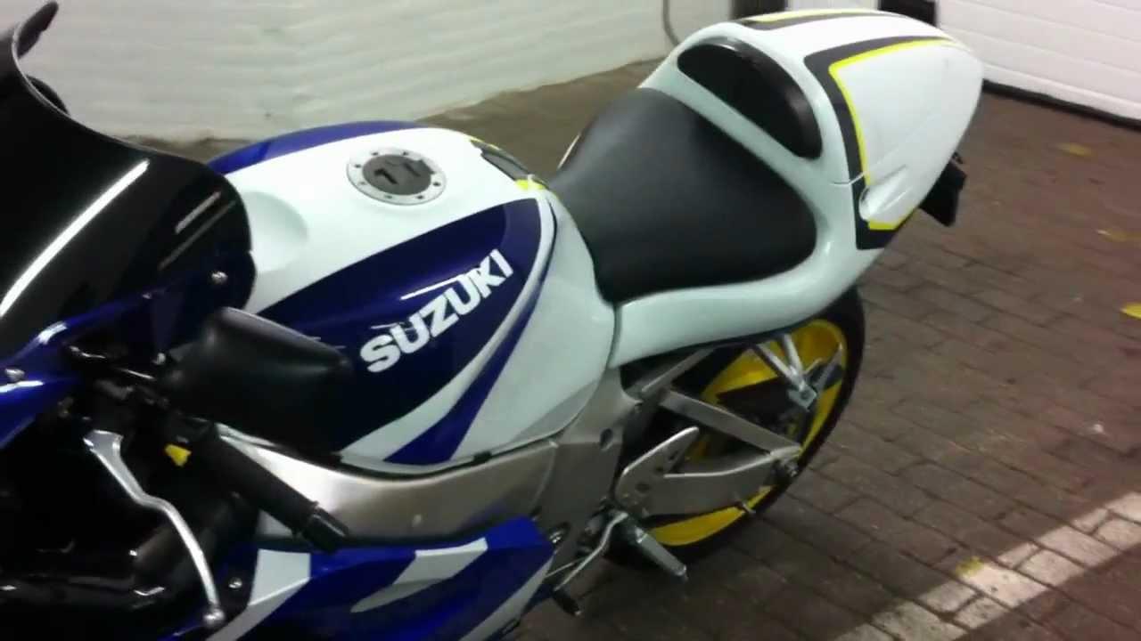 Suzuki Gsxr 600 >> SUZUKI GSX-R 750 SRAD 1999 - YouTube