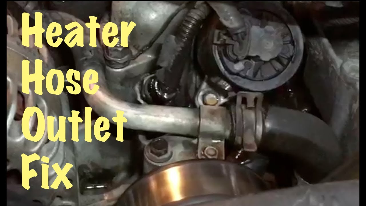 1995 96 97 98 99 GM Truck Vortec V8 Heater Hose Outlet Replacement (Chevy &  GMC) - YouTubeYouTube