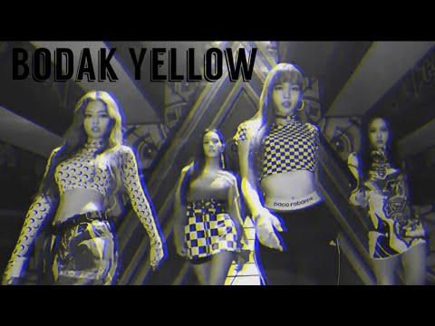 Bodak Yellow ~ BLACKPINK [FMV]