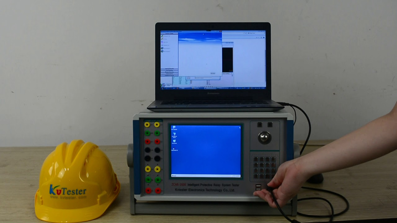 six phase relay tester/Secondary current injection test set