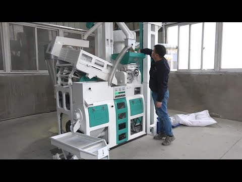 Best Mini Rice Mill Or Small Rice Mill 1TPH (MR9S)