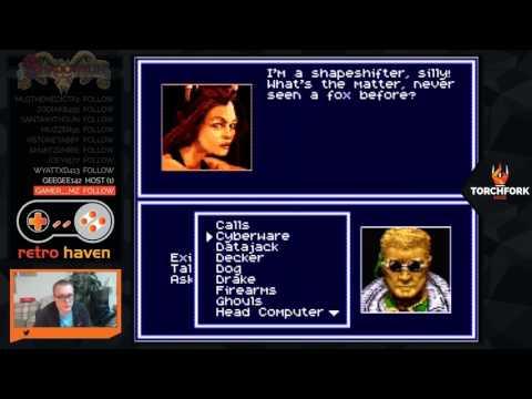 Shadowrun Snes Ep 2 - Retro Haven with StarmanRJK