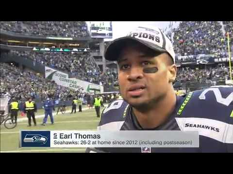 Earl Thomas Post Match Interview: