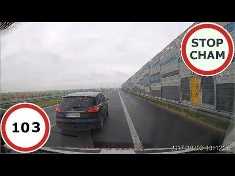 Stop Cham #103 – Niebezpieczne i chamskie sytuacje na drogach