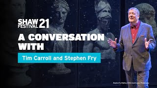 The Value of Storytelling with Stephen Fry and Tim Carroll