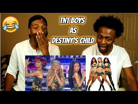 TNT Boys as Destiny's Child   Survivor : Your Face Sounds Familiar Kids 2018 (REACTION)
