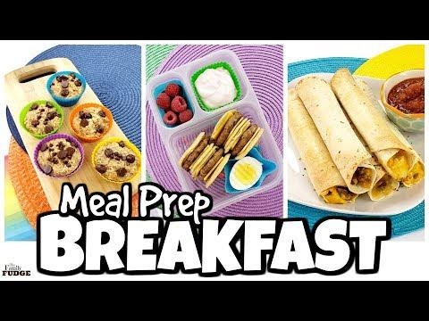 Kid Friendly BREAKFAST Meal Prep Ideas ☀️