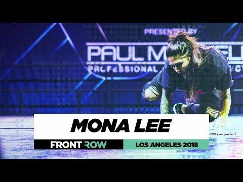 Mona Lee  FrontRow  World of Dance Los Angeles 2018  WODLA18