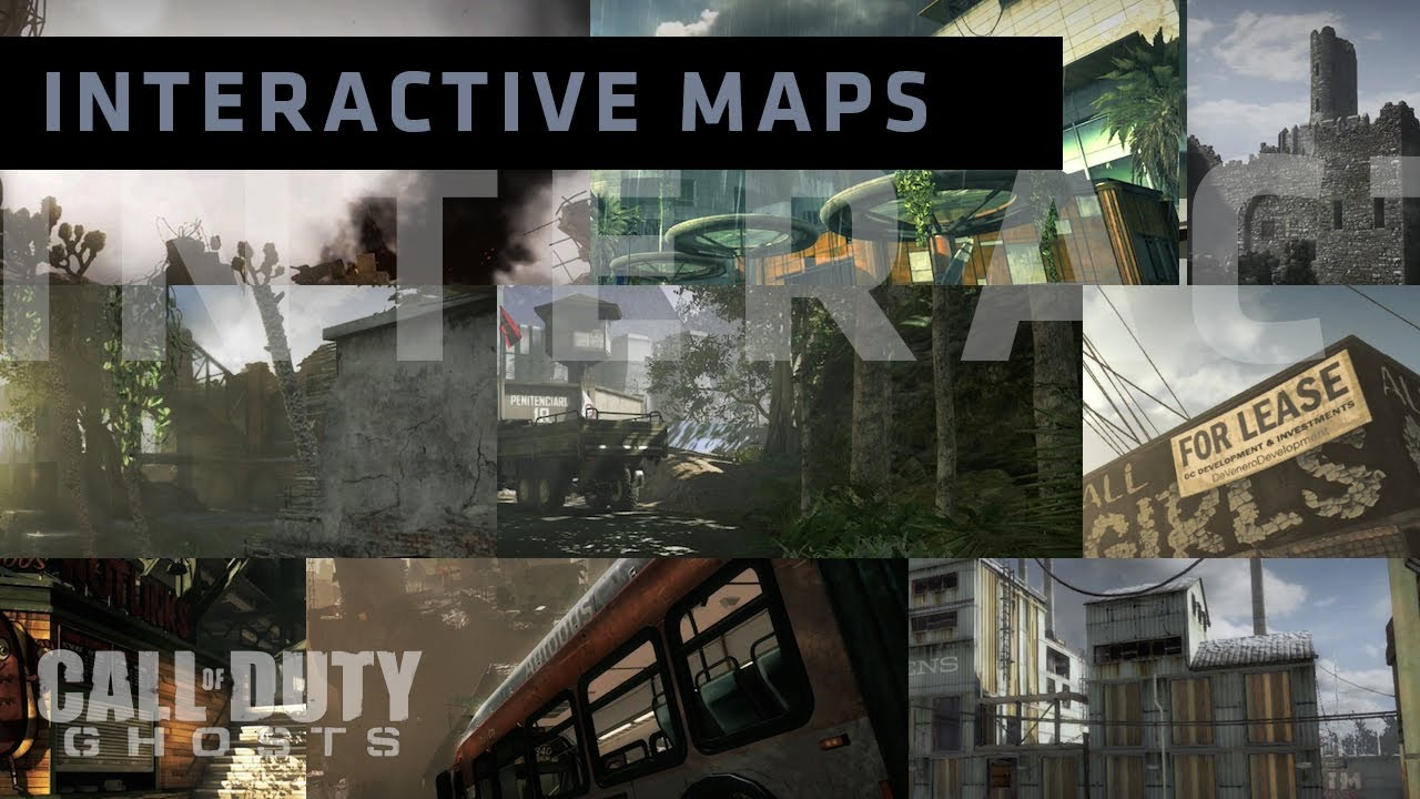 Ghosts Map Secrets Intercations Dynamic Events Tutorial Youtube