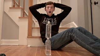 Water Bottle Flip Trick Shots 4  Thats Amazing