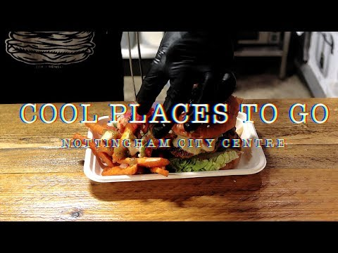 Vlog: Cool places to go in Nottingham city centre