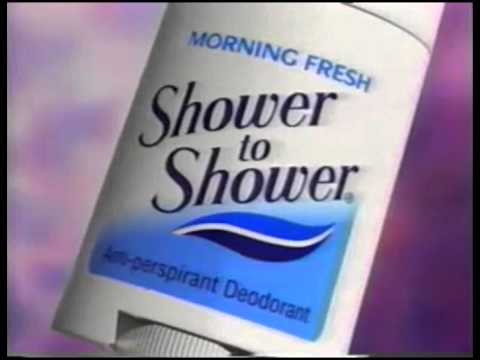 Download Shower to Shower Deodorant Commercial 1993