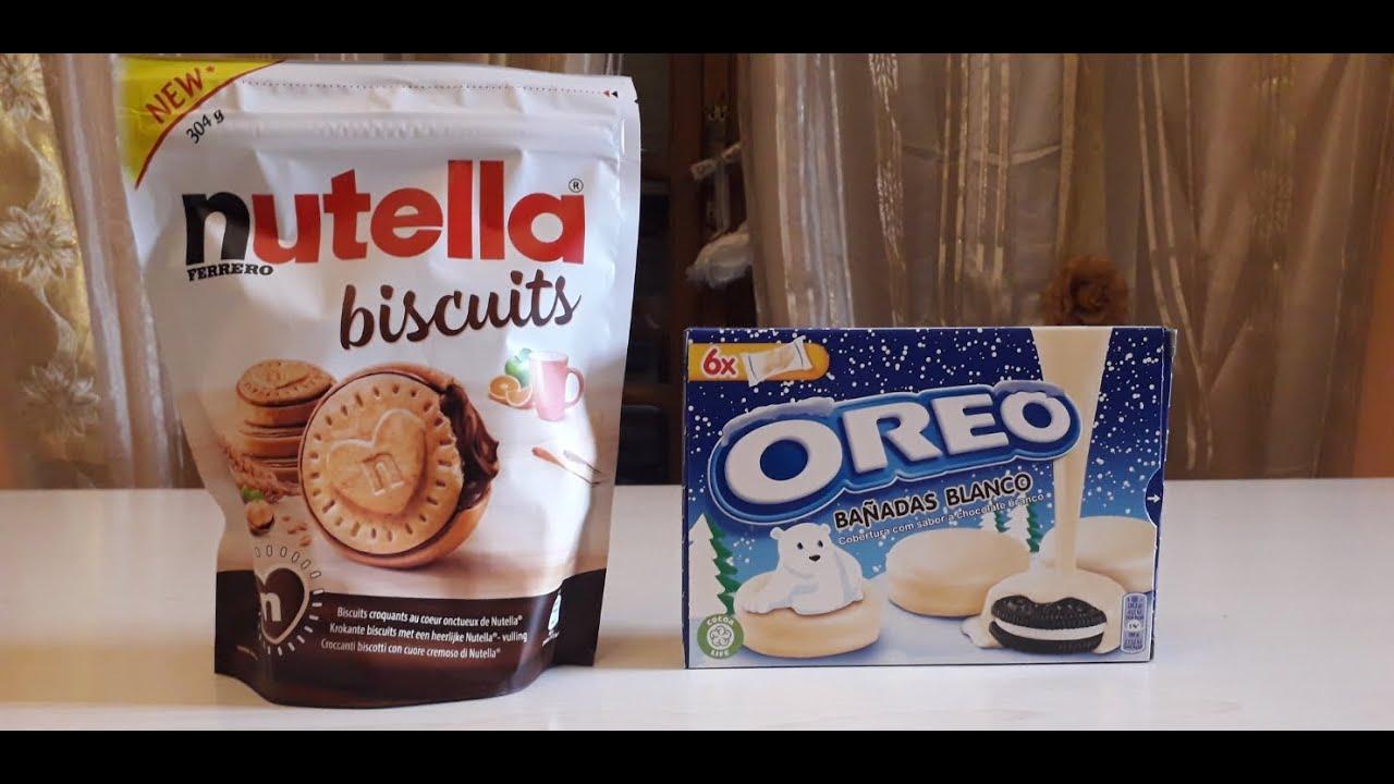 Biscotti Nutella e oreo bianco