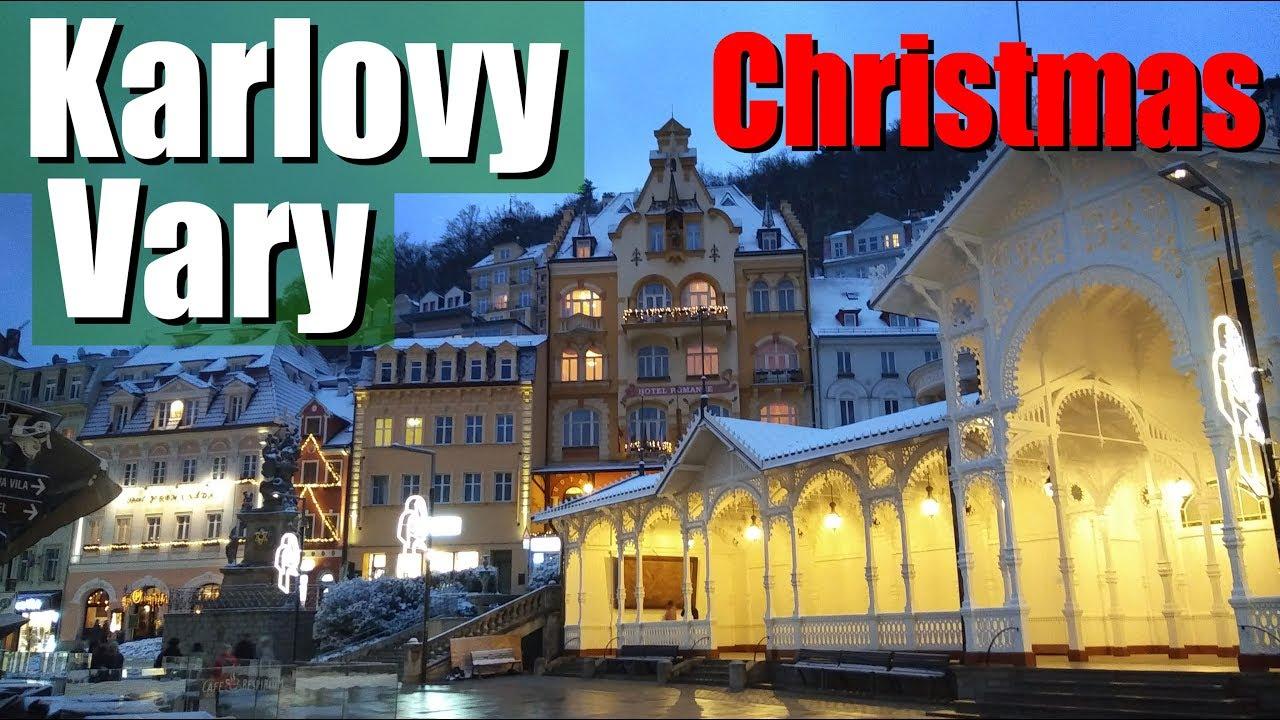 Karlovy Vary Christmas Market Location 2021 Karlovy Vary Christmas Market Youtube