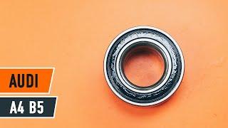 Auswechseln Radlagersatz AUDI A4: Werkstatthandbuch
