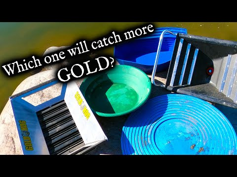 Which Gold Pan Is The Best?  *Gold Pan Review*