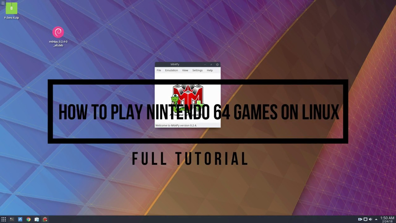 How To Play Nintendo 64 Games On Linux
