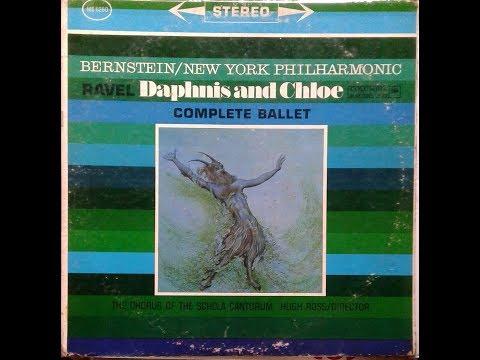 RAVEL DAPHNIS AND CHLOE  COMPLET BALLET  NEW YORK PH  L BERNSTEIN  COLUMBIA MS 6260 1960 1