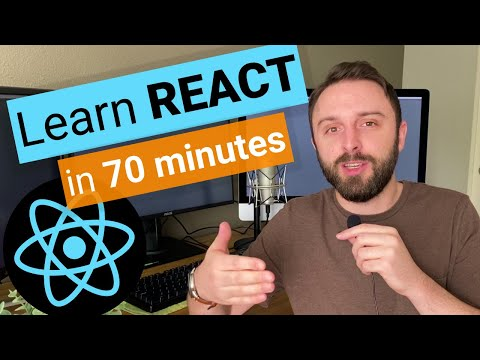 Learn React.js In 70 Minutes: JSX & UseState Tutorial