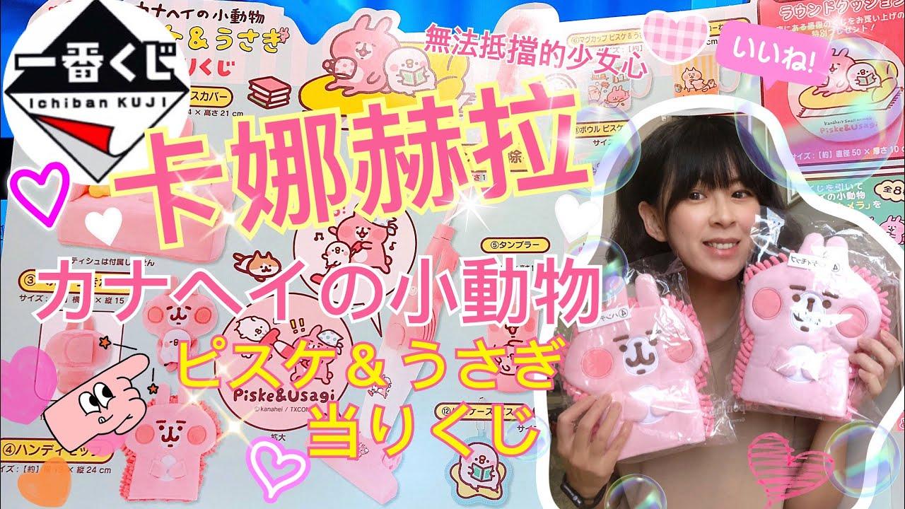 「一番賞」卡娜赫拉 カナヘイの小動物 ~ 讓人少女心徹底噴發的ピスケ&うさぎ ~大獎竟然是吸塵器啊!!!超可愛兔兔送給你們~