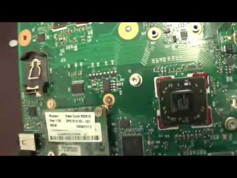 Северный мост-Стандартная неисправность ноутбука Compaq 615