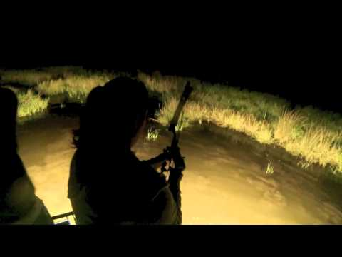 Bowfishing in Southern Louisiana